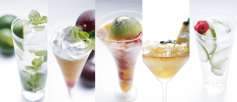 Fresh Fruits Cocktails